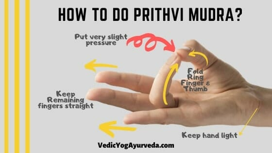 How to Do prithvi Mudra?