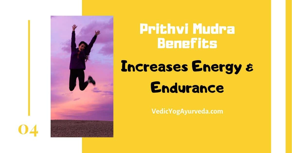 Prithvi mudra Benefit for energy and endurance